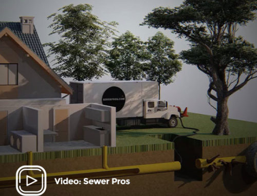 Sewer Pros – 3D Trenchless sewer repair, pipe lining animation